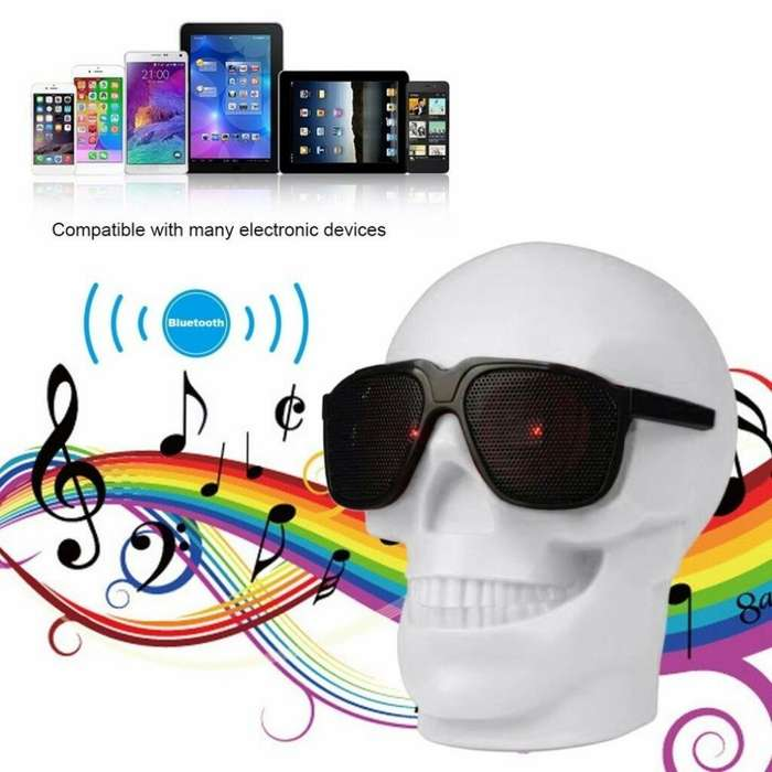Wireless Speaker Parlante Calavera