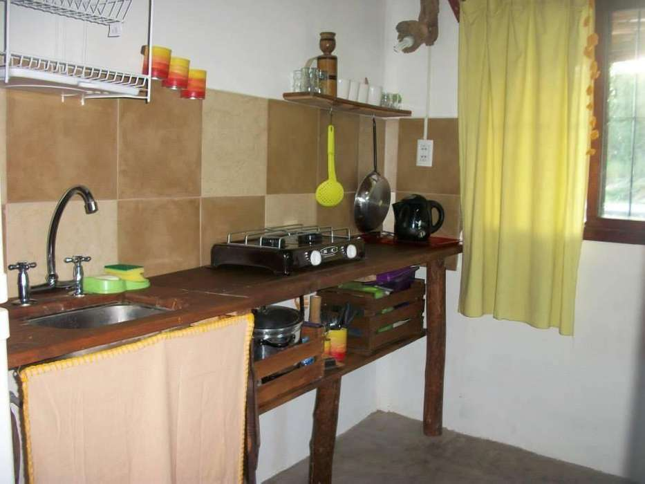 dg74 - Cabaña para 1 a 3 personas con cochera en Trapiche