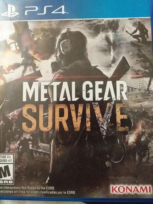 Vendo O Cambio Metal Gear Survive Ps4