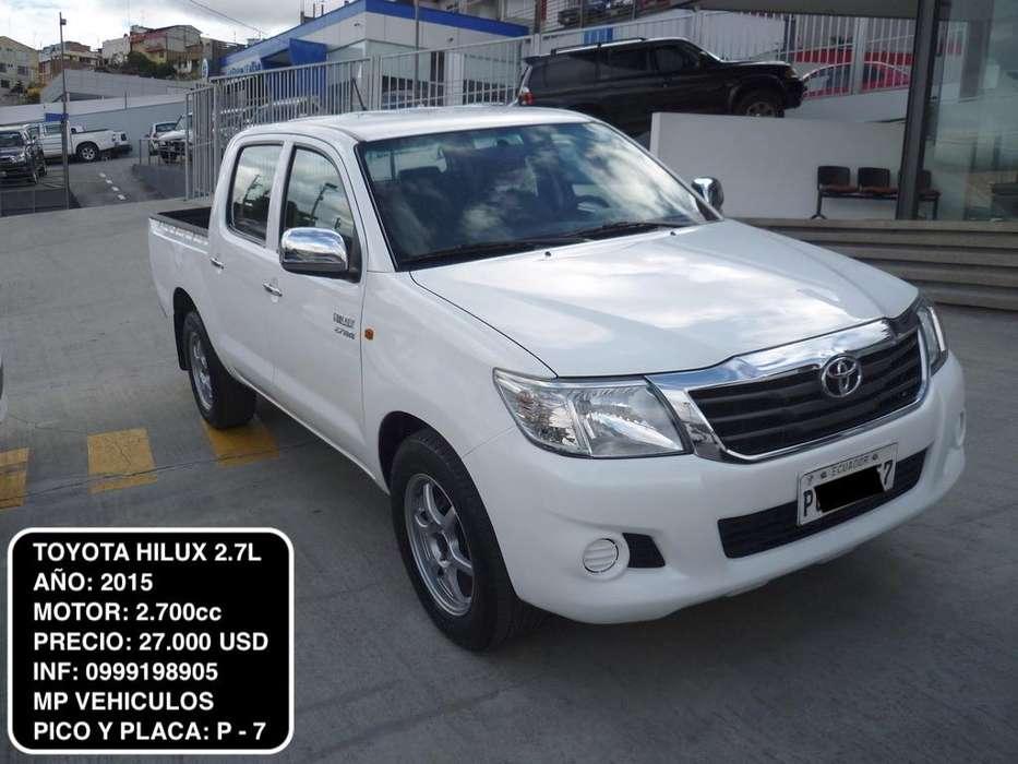 Toyota Hilux 2015 - 71000 km