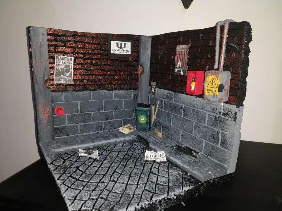 Diorama para Figuras de Acción