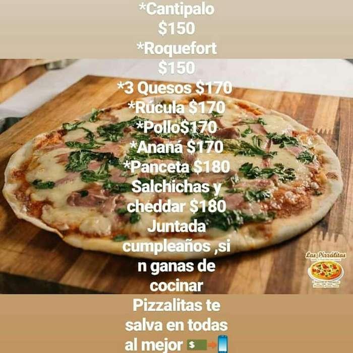 Pizzas Listas