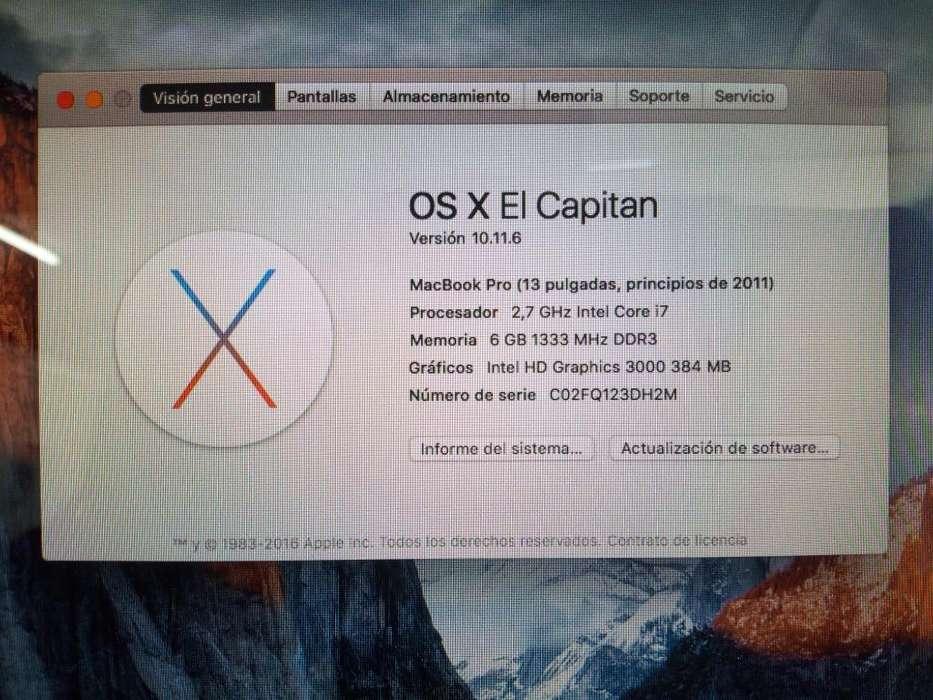 Macbook Pro Corei7