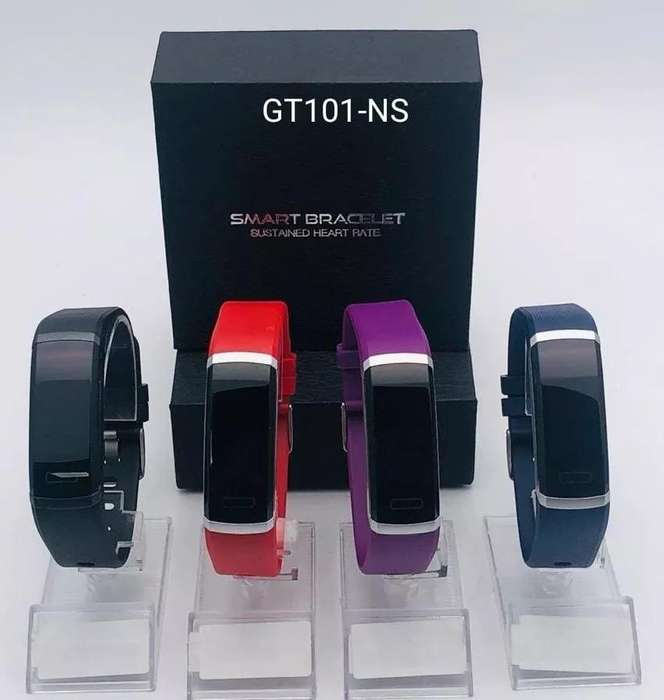Pulsera Reloj Ritmo Cardiaco Gt101 Deportivo