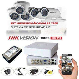 Kit <strong>camaras</strong> de seguridad hikvision