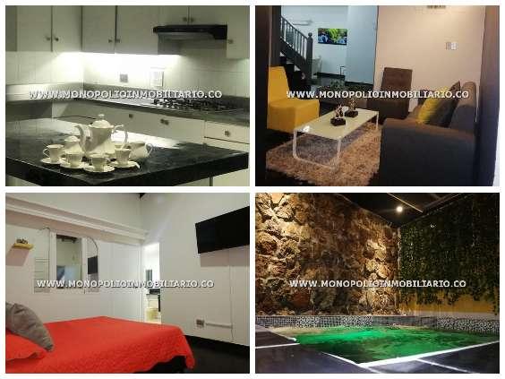 luja casa amoblada disponible en medellin cod:13553