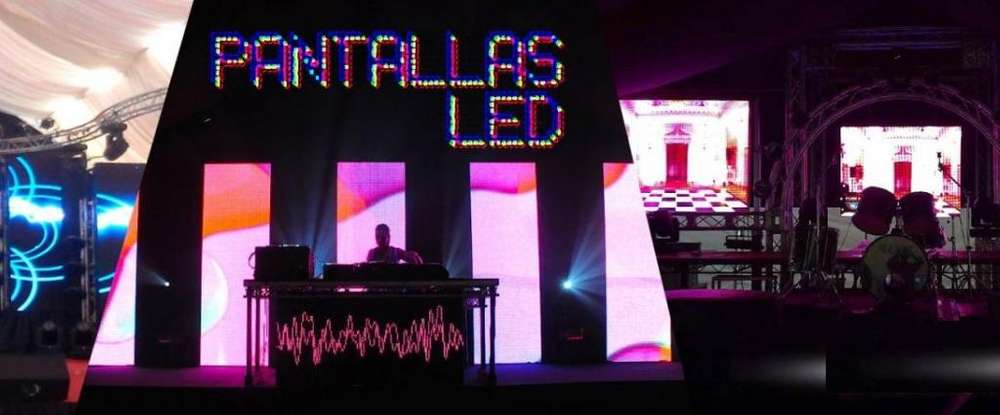 Alquiler PANTALLA Gigte LED, TELEVISORES SMART Plgds Proyector Ecram Sonido wsp955022963