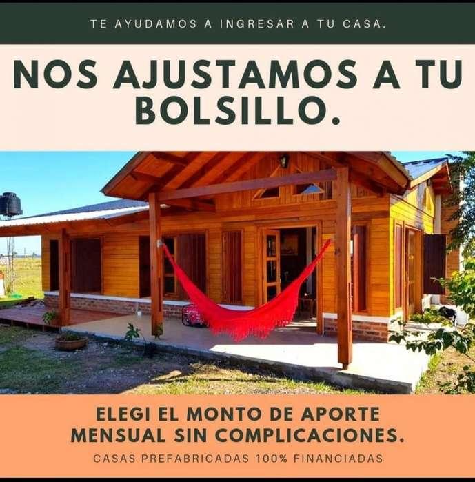 Casas Pre Fabricadas 100% Financiadas