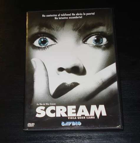 Scream película dvd