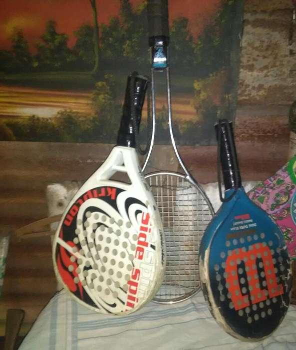 Raqueta de Tenis Y Paddle 2 Usada