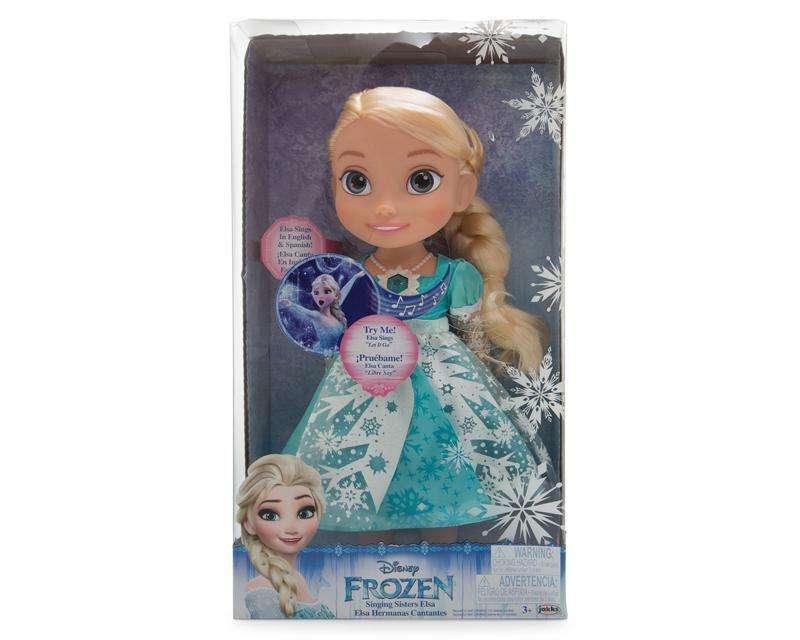 Muñeca Elsa Cantando - Disney Frozen