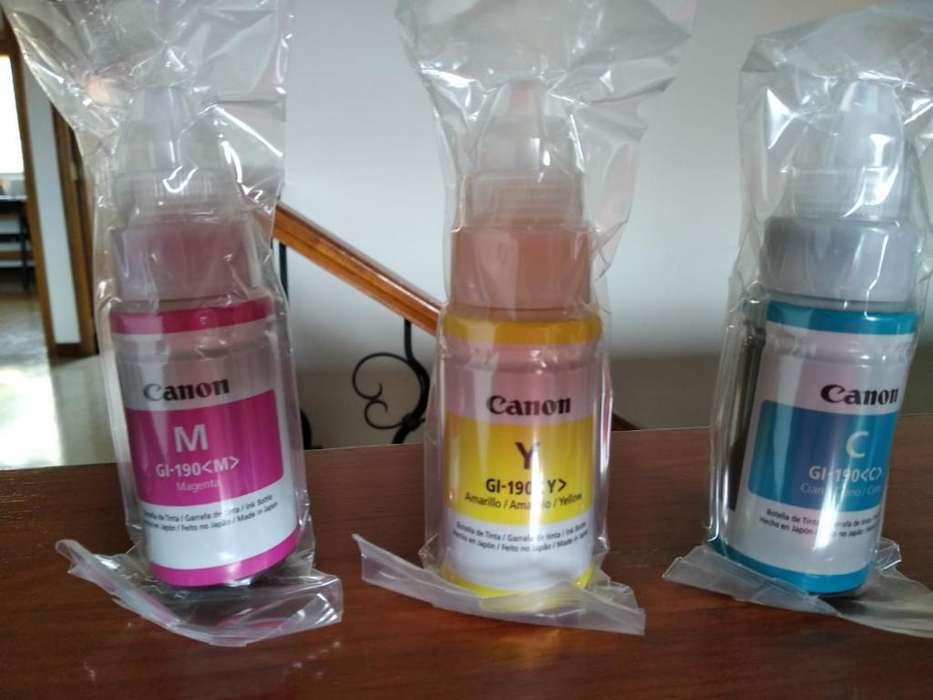 Tinta Colores Impresora Canon