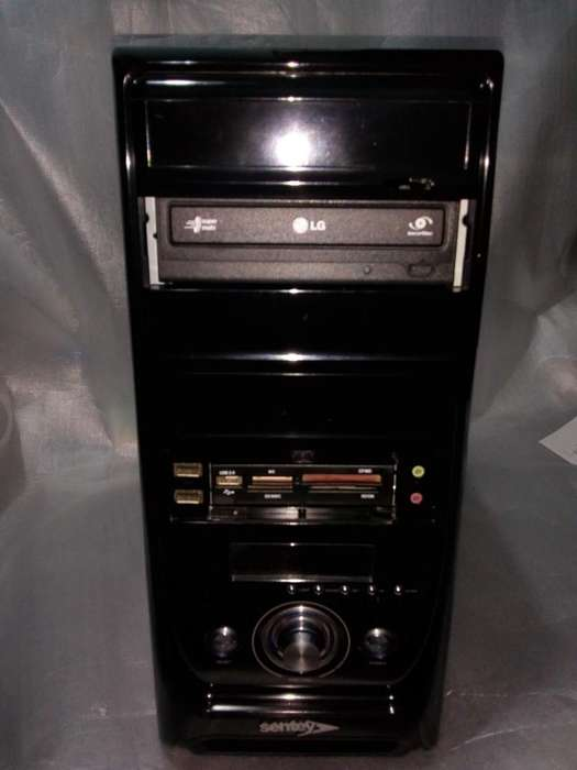<strong>pc</strong> Intel Core 2 Quad Q8200- 1 Tb Disco -4 Gb Memoria - Wifi