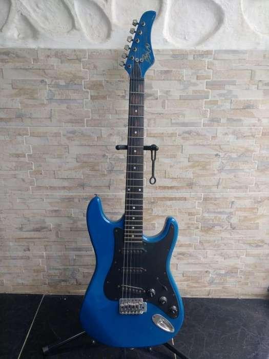 Guitarra Electrica Biscayne Six Strat Usada