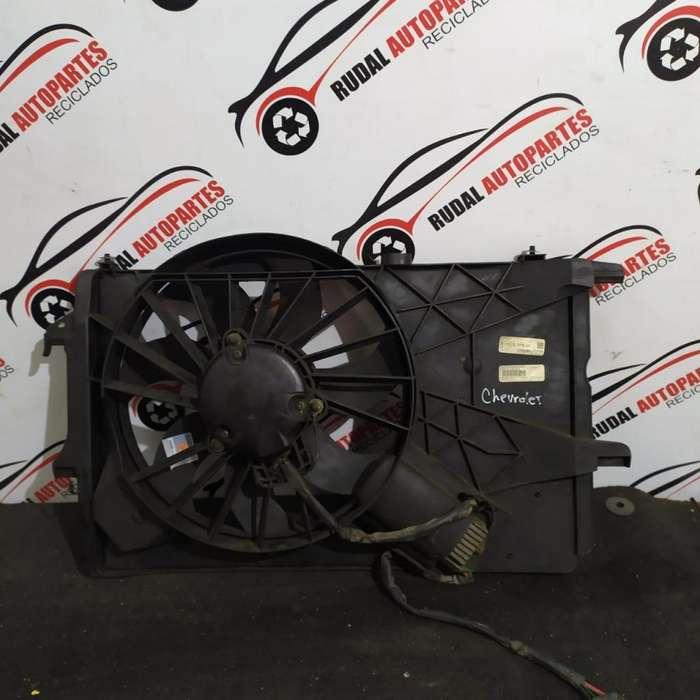 Electro Ventilador Chevrolet Meriva 3800 Oblea:02570646