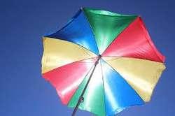 Parasol de 2,40 metros metálico NUEVO