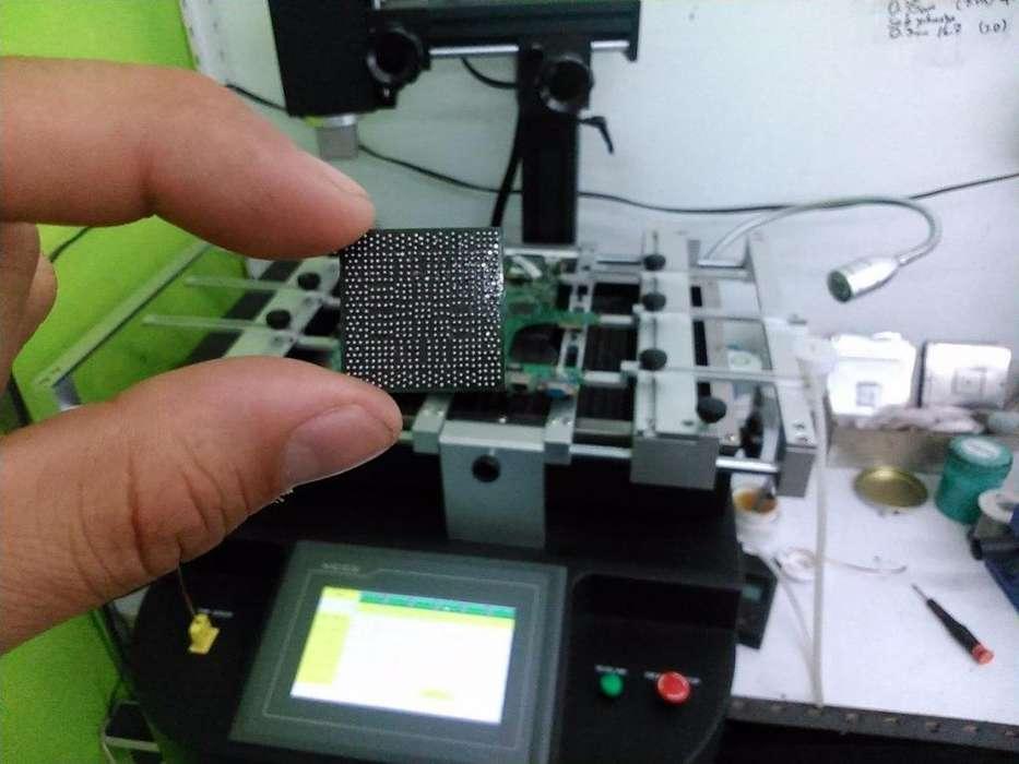 La Plata Reballing Notebook Xbox Ps3 Chip De Video Gremio