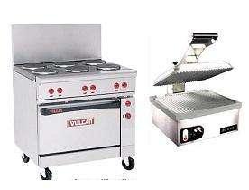 cocina eléctrica industrial vulcan americana equipo restaurant sanduchera