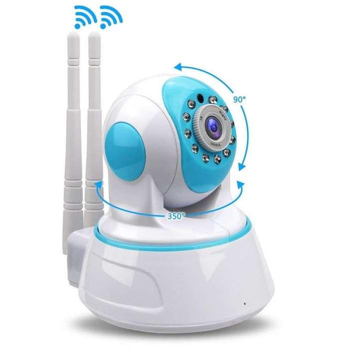 Cámara IP Robótica Inálambrica de Vigilancia Wifi 1080p Hd Nocturna