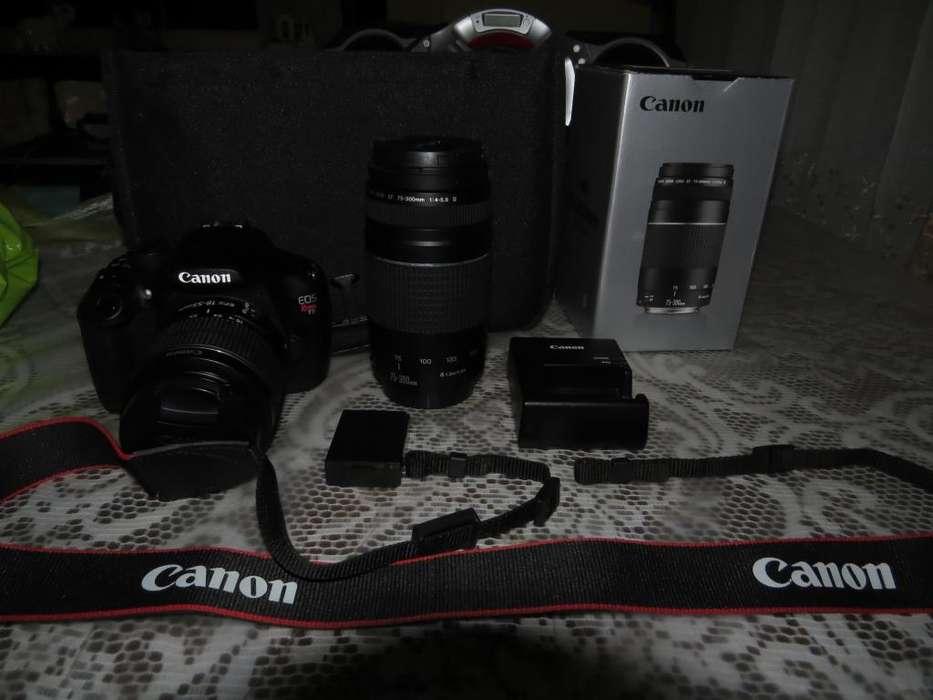 Por única ocasión Cámara Canon EOS Rebel T5