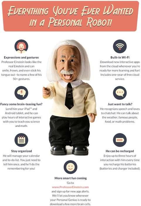 Profesor Einstein - Robot con IA