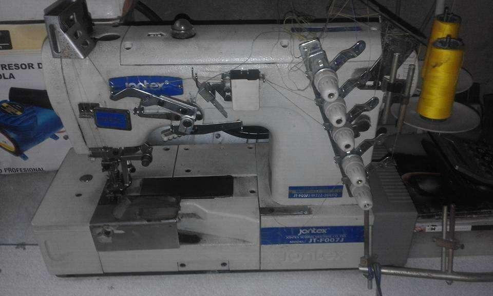 maquina collarin jontex en muy buen estado con poco uso