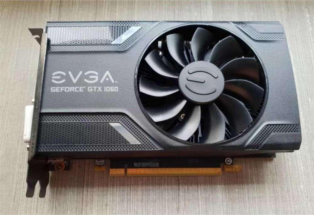 Targeta de video EVGA GTX 1060 de 6GB en perfecto estado
