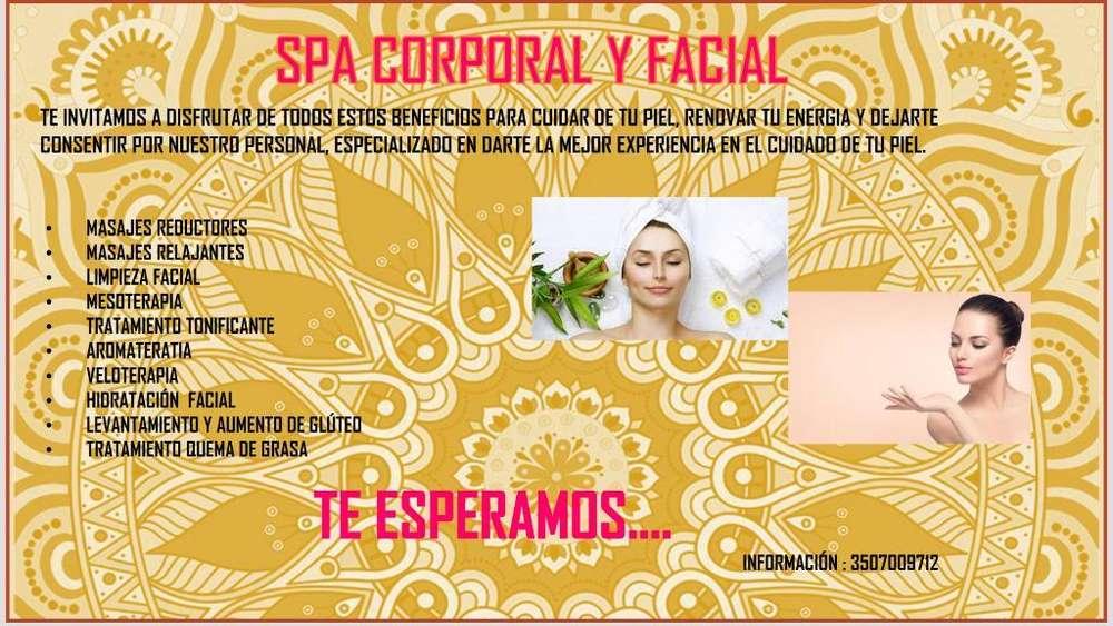 Spa Facial Y Corporal en Mosquera