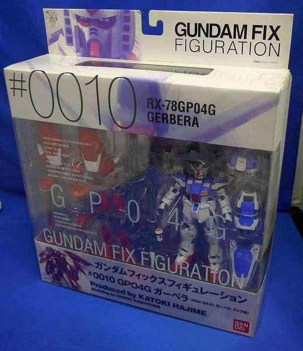 Lote #6 Gundam Fix Figuration Gerbera Tetra