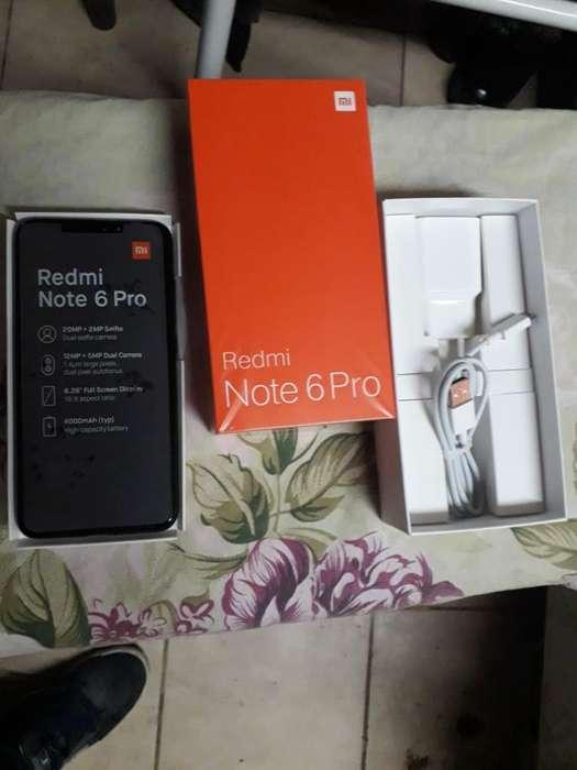 Vendo Xiaomi Note 6 Pro Libre Impecable