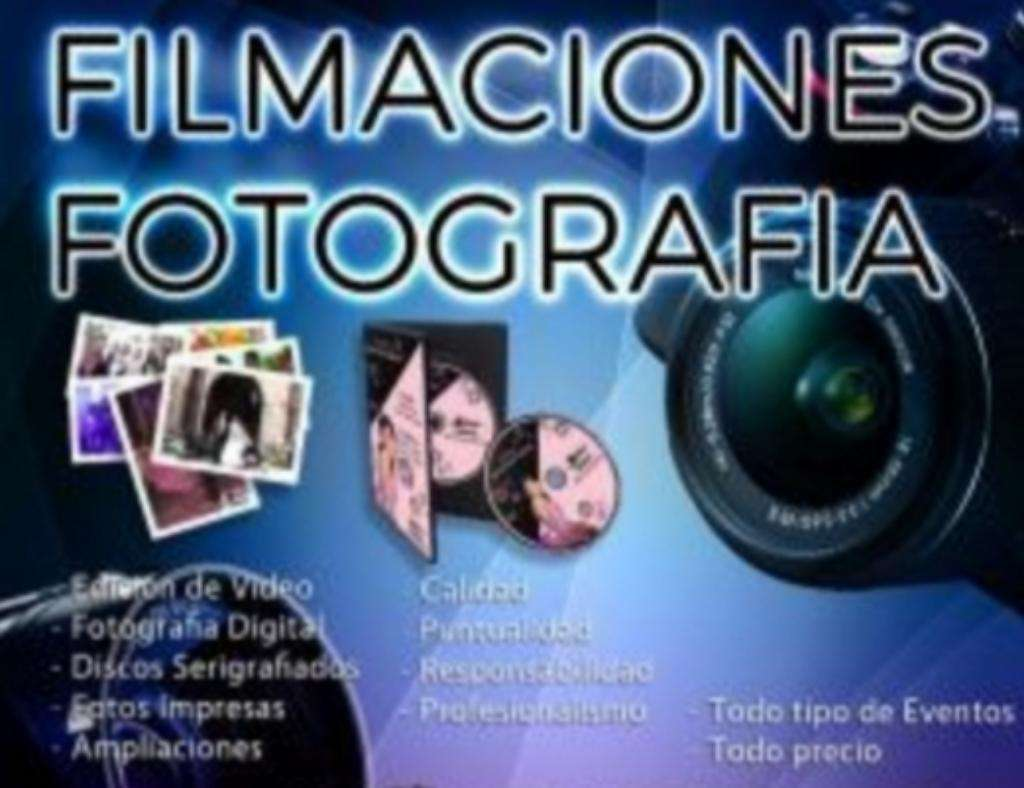 Fotografia Y Filmaciones