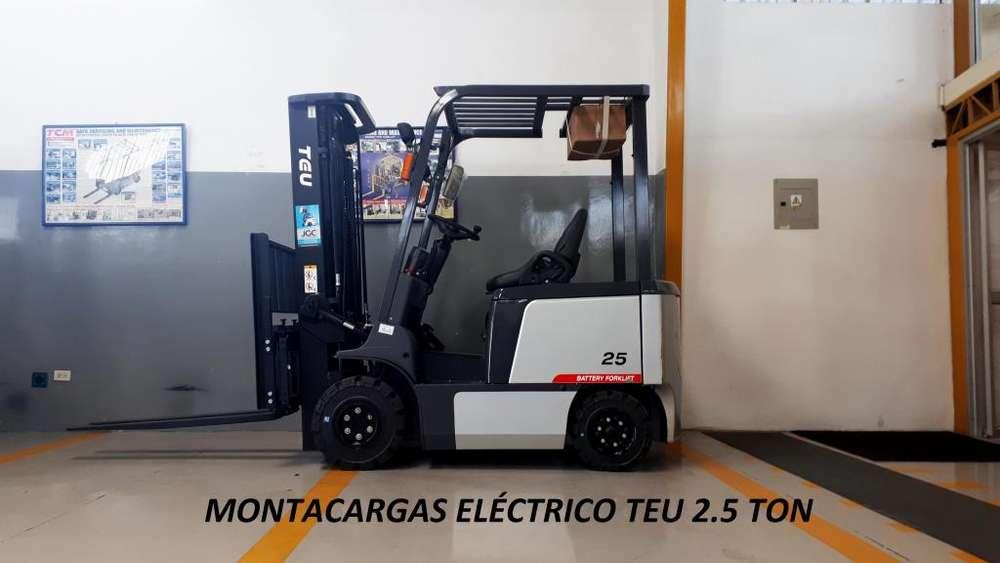 Montacargas Eléctrico TEU 2.5 TON