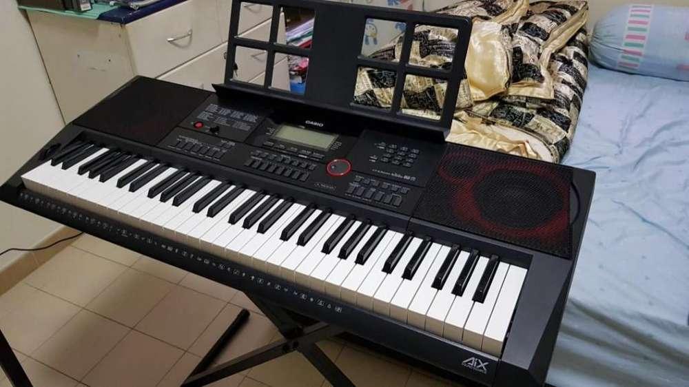 Organeta Casio Ct-x3000, 5 Octavas Con Usb, Con Adaptador Atril