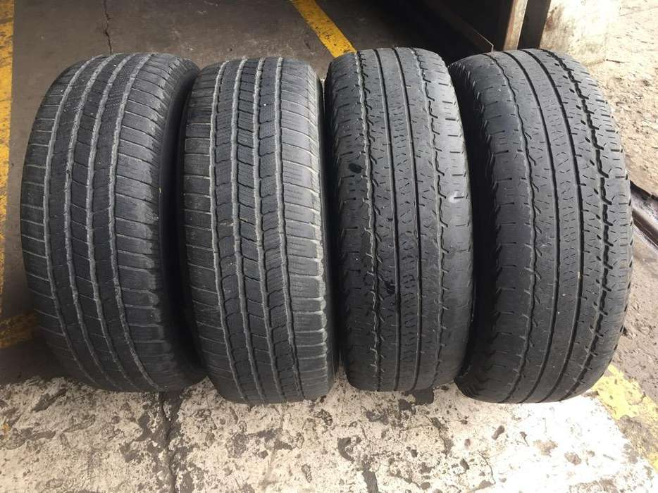 <strong>neumatico</strong>s Goodyear Y Michelin 255/70/16