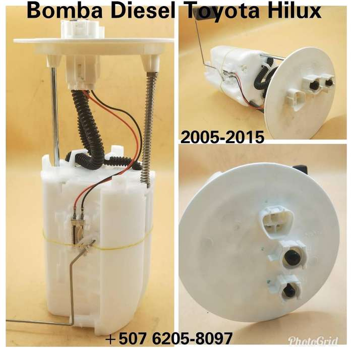 Bomba Diesel Toyota Hilux Tanque Combust