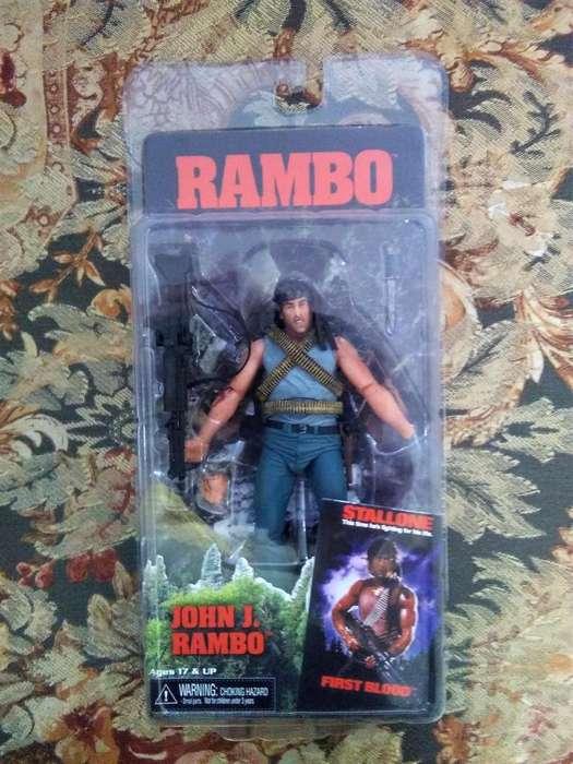 Figura de acción de Neca Toys First Blood JOHN J. RAMBO