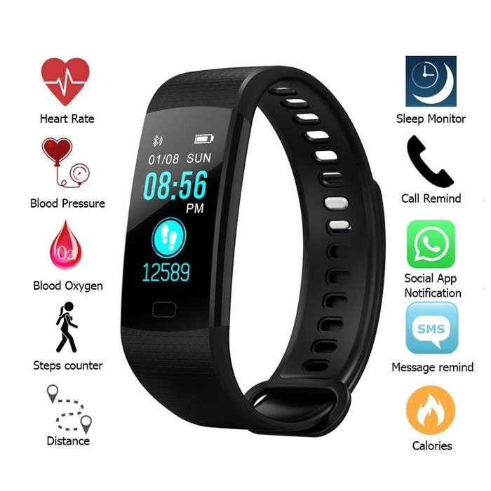Smartwatch y5 PRO Pulsera Inteligente RITMO CARDIACO DEPORTES PRESION BLUETOOTH