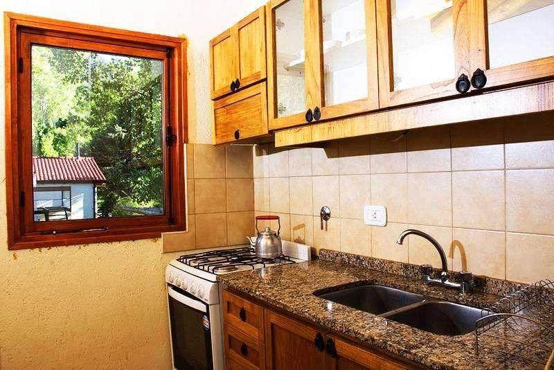 tg80 - Cabaña para 2 a 6 personas con pileta y cochera en Potrerillos