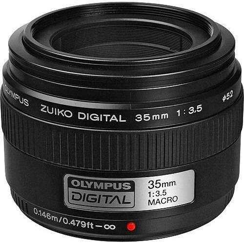 Lente Macro <strong>olympus</strong> Zuiko 35mm f3.5 <strong>olympus</strong> Evolt Panasonic