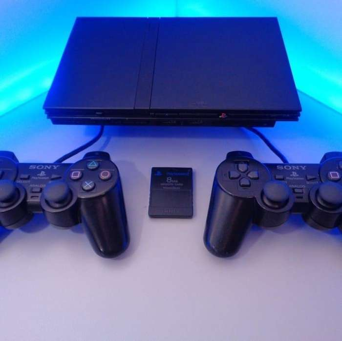 VENDO PLAY 2 SLIM SUPER COMPLETO 2 CONTROLES 5 JUEGOS INF 3186789599