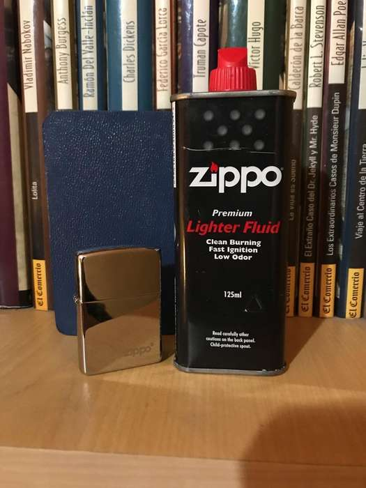 Mechero Encendedor Zippo Y Combustible