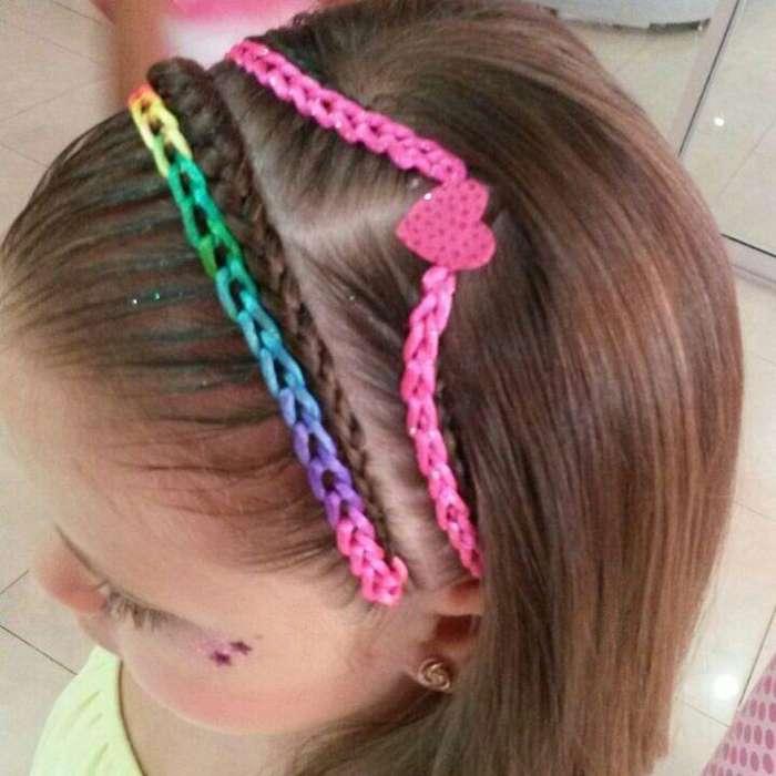 peluquera niñas peinados