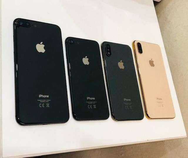 base completa iphone 7 8 plus xs max chasis trasera garantia tienda