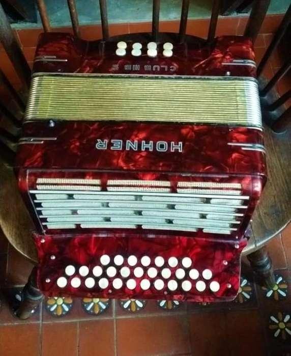 acordeon botones 3 hileras hohner aleman chamame