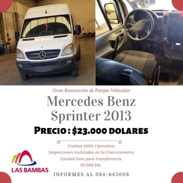 Mercedes Benz Sprinter 2013