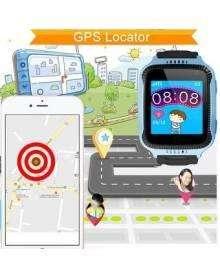 RELOJ SMART WATCH RASTREO GPS CAMARA Y JUEGOS PARA NIÑOS