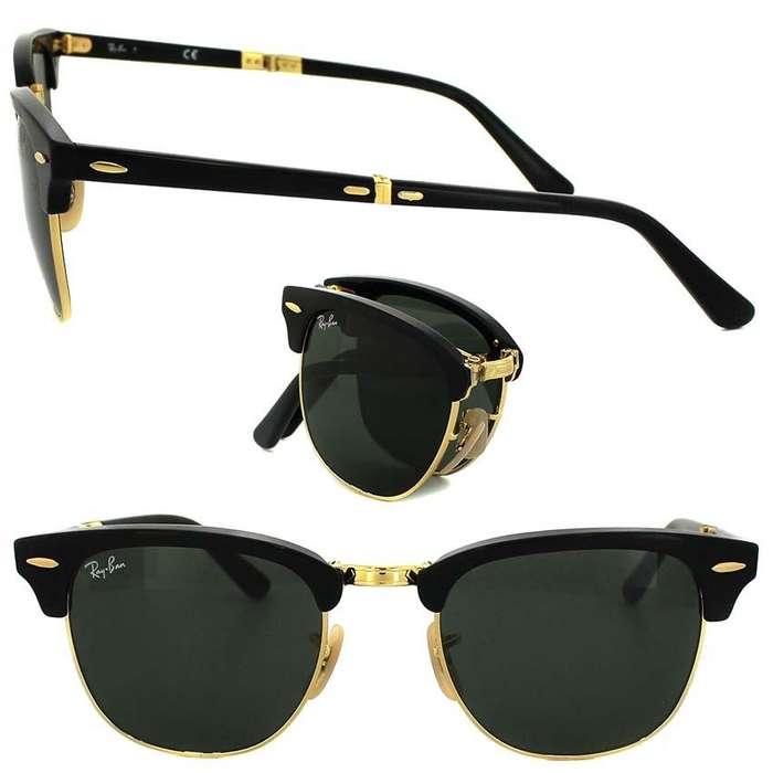 cc98c0afa9 RayBan CLUBMASTER Gafas de sol UNISEX schwarz/goldfarben Hombre  Complementos, catalogo lentes ray ban