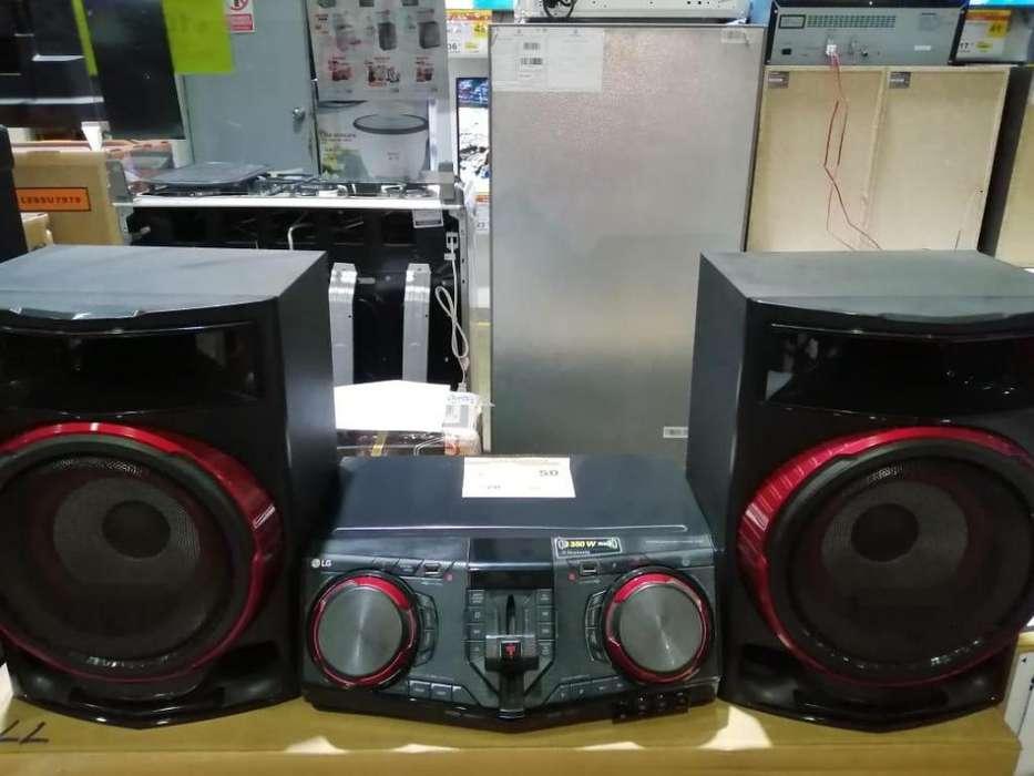MINICOMPONENTE LG CJ87