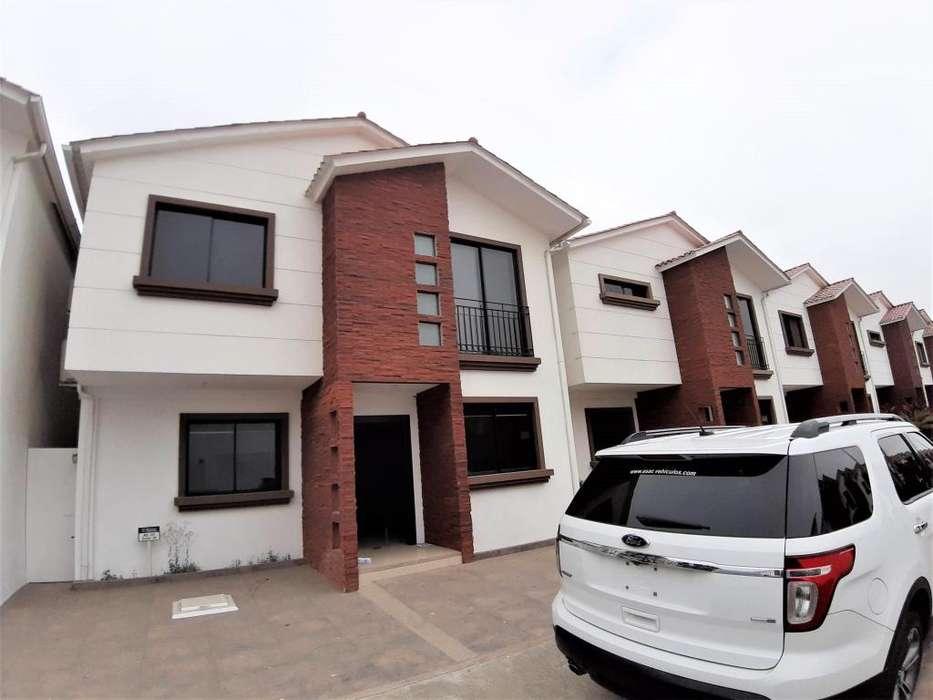 Alquiler casa amoblada 4 dormitorios con piscina, Napoli, Salitre, Guayaquil