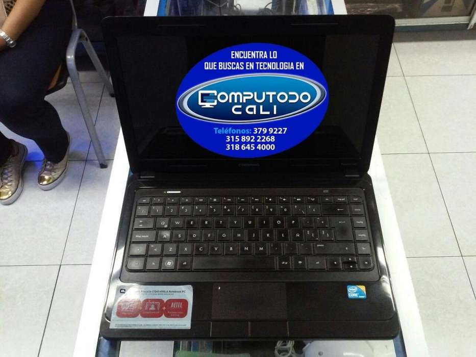 Portatil Compaq 14 Core i3 con 4GB RAM y 500GB HDD